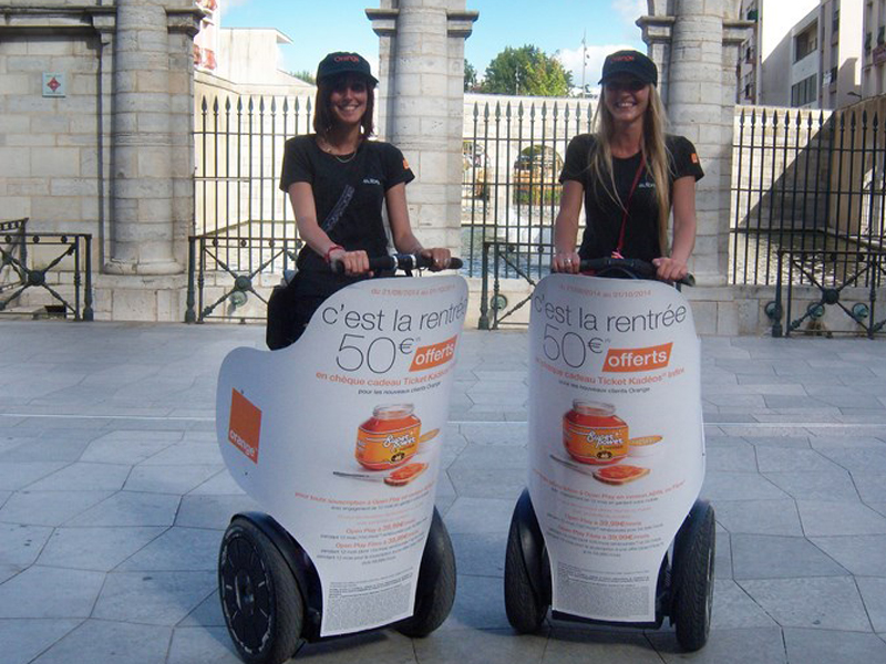 Orange-Segway